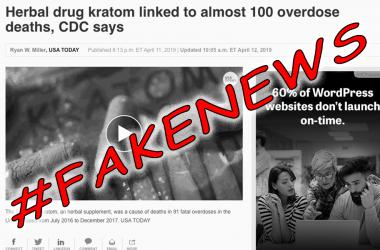 Debunking the LAMEstream Media #FAKENEWS That Kratom Caused 90 Overdose Deaths