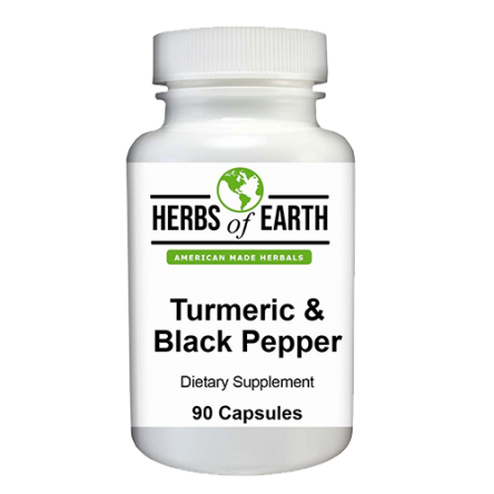 Turmeric and Black Pepper Supplement