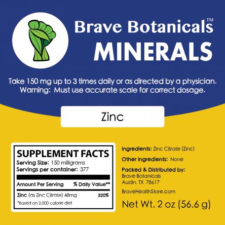 Zinc Powder (2 ozs.)