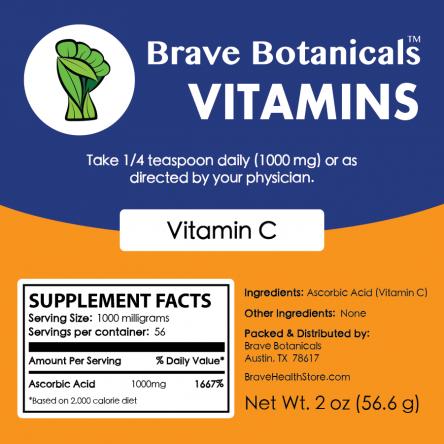 Vitamin C Powder (2 ozs.)